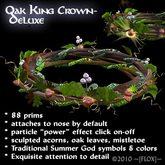 ~[FLOX]~Oak King Crown, deluxe