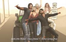 SuBLiMe PoSeS - Crazy friend 5 - Bento Group Pose  (Wear/ Box)