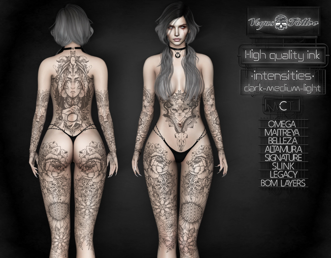 .: Vegas :. Tattoo Applier The Witch
