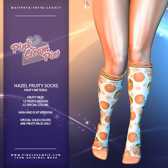 !PCP :: Hazel Socks [Fruity Pack]