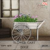 Bloom! - FlowerCart Beige (wear me to Unpack)