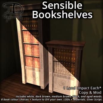 [DDD] Sensible Bookshelves