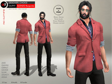 A&D Clothing - DC Outfit -Alonzo- Burgundy