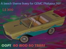 """Sun & Waves"" Paint/Livery: GEMC - Platypus Typ 707"
