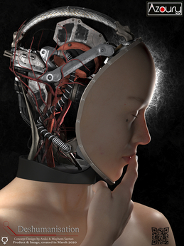 AZOURY - Deshumanisation Robotic Brain