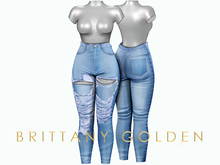 Brittany - Hina Jeans Destroy - Light
