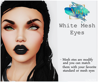 .Viki. White Mesh Eye