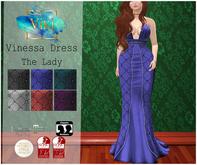 .Viki. Vinessa Dress - The Lady
