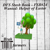 DFS Stash Book - FSB#24 - Wanted: Helper of Easter