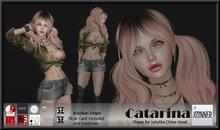 Zinner Shapes & Gallery - Catarina Shape for Lelutka Chloe Head