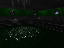 Sinful Lounge Club Skybox Grunge Green Fully Furnished with Rez Box