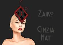 Zaiko - Cinzia  Hat - Red