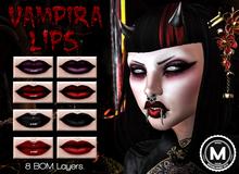 [MODA] Vampira Lips Pack - BOM (add me)