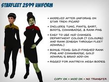 Starfleet 2399 Uniform (Female)