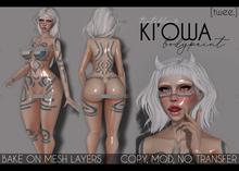 [twee.] - Ki'owa (body paint.)
