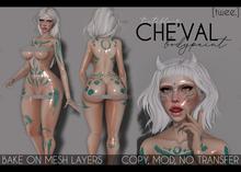 [twee.] - Che'val (body paint.)