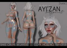 [twee.] - Ayi'zan (body paint.)