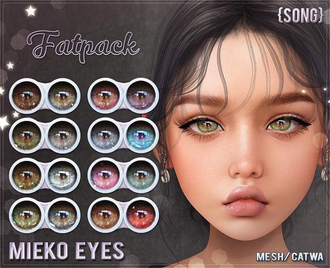 {S0NG} :: Mieko Eyes (Fatpack)