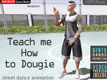 A&M MOCAP - Teach Me How To Dougie - DANCE SOLO (transfer)