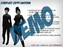 Starfleet 2399 Uniform (Female) - DEMO