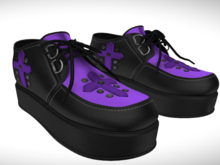 ::AMF:: Sophie Shoe Purple - Add To Open