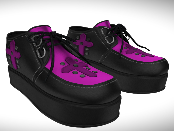 ::AMF:: Sophie Shoe Magenta- Add To Open