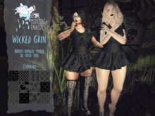 ::AMF::Wicked Grin Dress - Rez to open