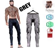MATEO-Skinny Pants  MAZA!! Grey