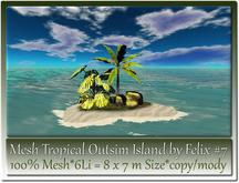 Mesh Tropical Outsim Island by Felix #7-6Li=8x7m c-m