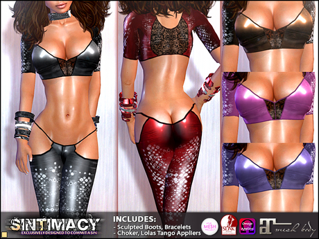 SINTIMACY - Rocking Lowrise Outfit (5 Colors)