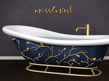 {moss&mink} Tiffany Bathtub (PG)