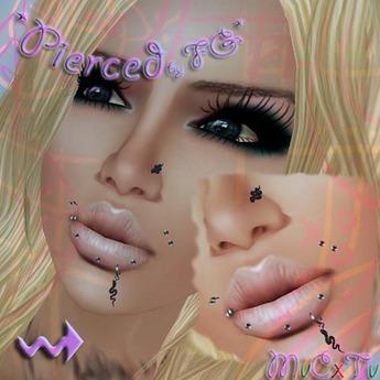 *FG* Snake mouth&nose piercing