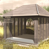 !Lyrical B!zarre Templates! - Spring Gazebo 1 MESH FP