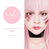 BOM Niko Body Shop*Face abuse tattoo