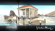 reBourne - Vista Mar Mini - beach shack cabana summer house surf hut tiny living vacation cabin small house water front