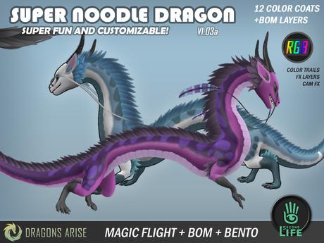 Super Noodle Dragon - Complete Avatar