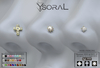 ~~ Ysoral ~~  .:  Luxe Set 3 Nose Piercing Pamella :.(STYLE HUD)