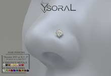 ~~ Ysoral ~~  .: 01 Luxe  Nose Piercing Pamella :.