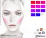 Zibska [50L Closeout] ~ Adeline Blush in 12 colors with Lelutka, Catwa, LAQ, Omega, tattoo & universal tattoo BOM