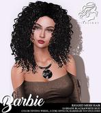 !!Firelight!! Barbie Curls - Black & White