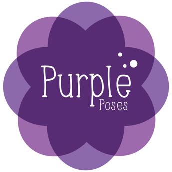 ! PURPLE POSES - Female Poses - 776 Single Poses