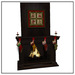 Belle Belle Christmas Fireplace