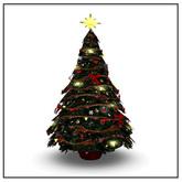 Belle Belle Christmas Tree Red