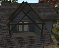 **SALE 50% OFF**D-VINE DESIGNS BELLISSERIA LOG HOME LINCOLN ADD ON-a balcony glass cover  2li