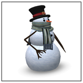Belle Belle Dancing Snowman