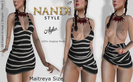 [Nandi Style] - Bag Dress Ayko ( Undress me ).