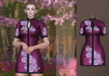 :: ANTAYA :: Dress <Anka> Purple (wear)