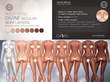 [GA.EG] Divine Body Skins - Regular - Full Pack - BOM