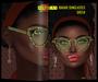 [AFROTAY] Bakari Sunglasses Green