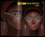 [AFROTAY] Bakari Sunglasses Black